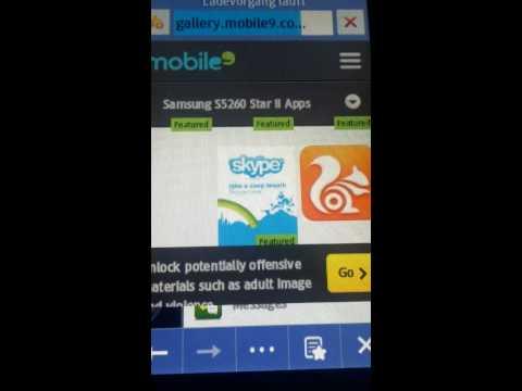 Samsung star II kostenlose spiele