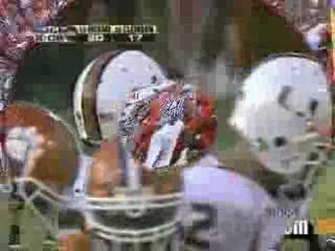 I always thought this was really cool. This video compares noise on tv vs noise on the field for each play during a late possession by Miami. Skip to 2:00 for third down. (Clemson-Miami 2005)