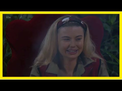 I'm a celebrity 2017: georgia 'toff' toffolo furious at claim she's too weak for celebrity cyclone