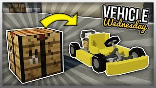 ✔️ HOW TO CRAFT VEHICLES! (Vehicle Wednesday)