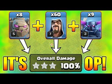 Golem VS Pekka VS Wizard   Who Will Win?   Insane Fight For 3 star   coc