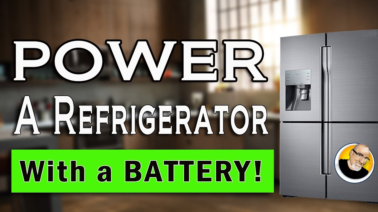 Power a Refrigerator with a Battery!