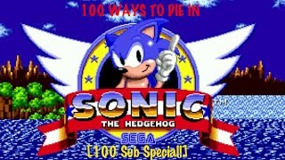 100 Ways To Die In Sonic The Hedgehog 100 Sub Special