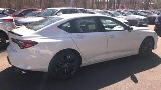 New 2021 Acura TLX Framingham Natick Marlborough MA, MA #AMA010164