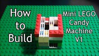 Tutorial How to Build Mini LEGO Candy Machine V1 *6x6*