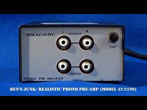Oddity Archive: Episode 136.5 – Ben's Junk: Realistic Phono Pre-Amp (Model 42-2109)