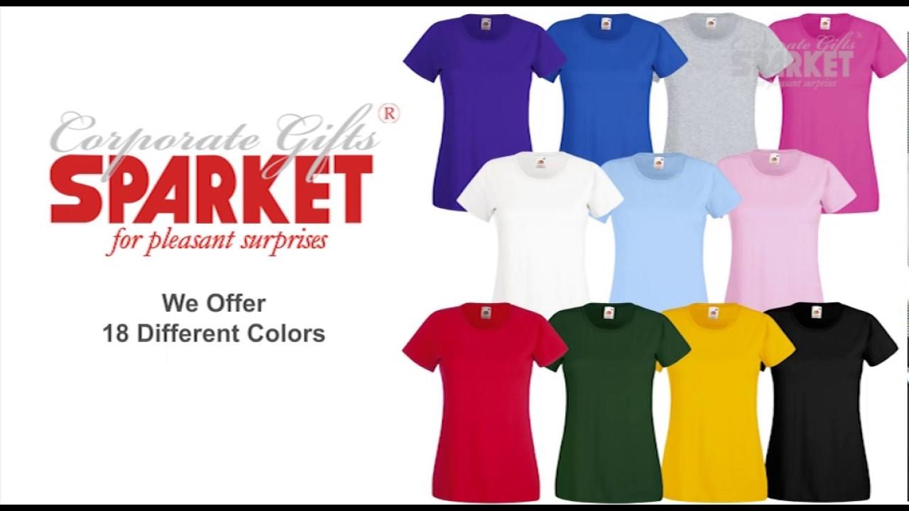 Custom T Shirts Promotional Logo Printed Customized T Shirts As