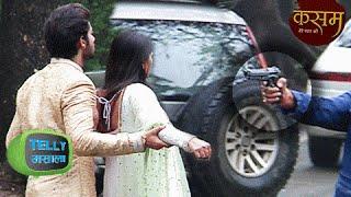 OMG! SHOOTOUT at 'Kasam' SET | Kasam Tere Pyaar Ki | Colors