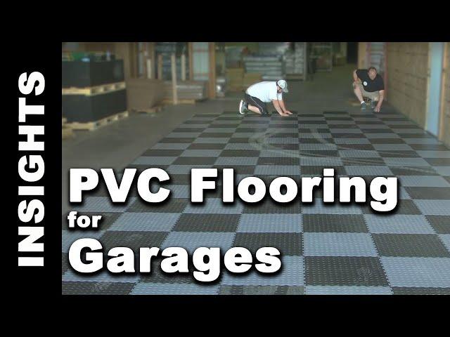 Industrial Pvc Coin Garage Tile Floors For Warehouses Buildings