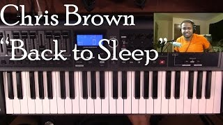 Baixar - Piano Lesson Chris Brown Back To Sleep Grátis