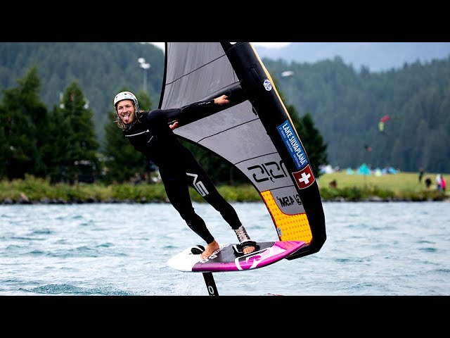 Global Wingsports Association (GWA) | Wing Foil Exhibition Event at lake Silvaplana