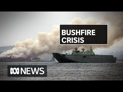 Despite Rain, Bushfires Continue In South Coast Bushfires | ABC News