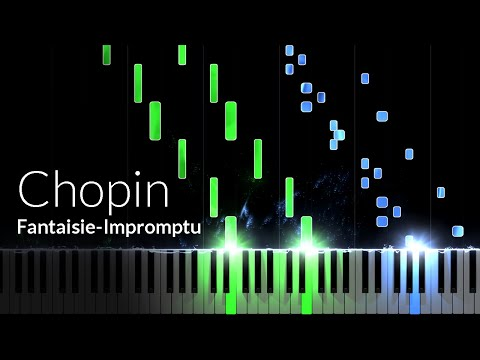 FantaisieImpromptu Opus 66  Frederic Chopin Piano Tutorial Synthesia