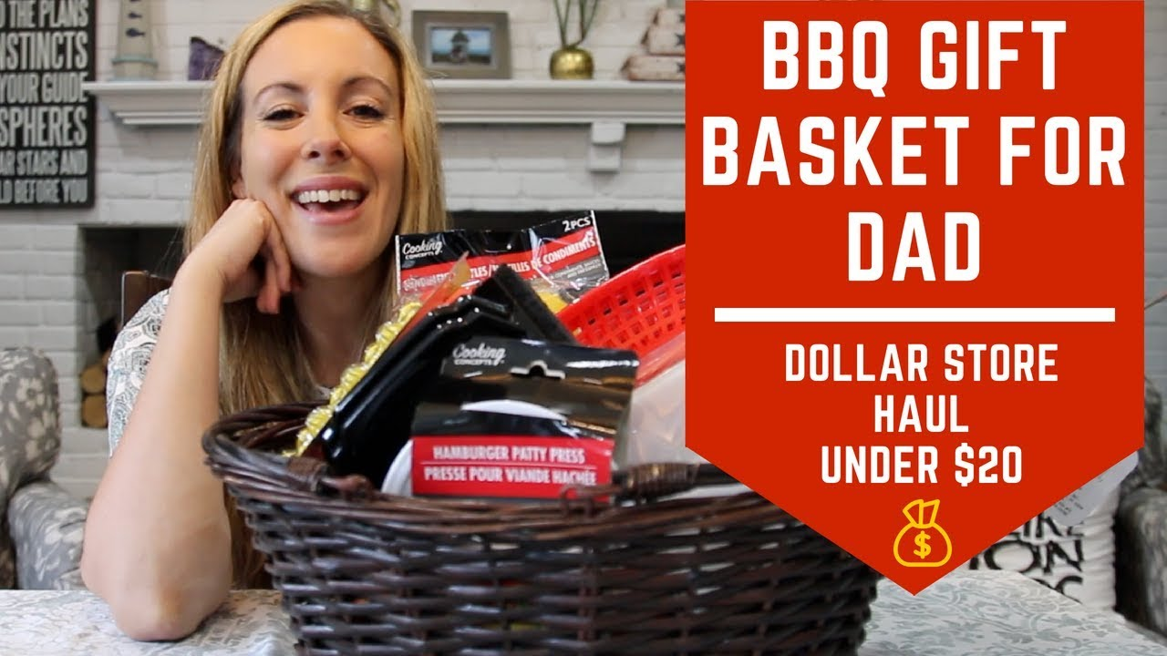 Father's Day BBQ Gift Basket Idea