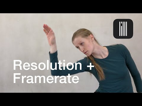 iPhone Tutorial - Resolution & Frame Rate