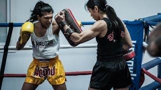 Krudar Muay Thai Blue Shorts
