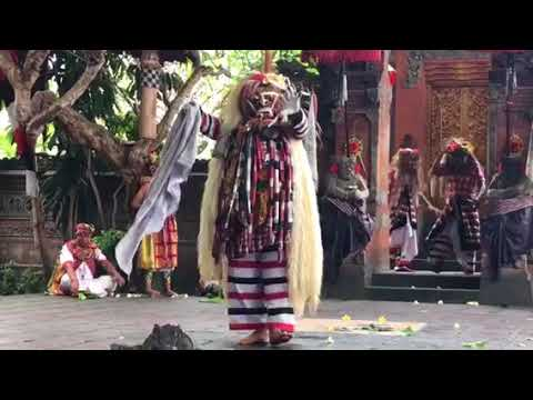 indonesia BALI a traditional stage drama