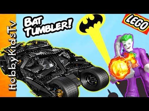 Lego BATMAN TUMBLER Build and Review!