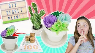 Learn How To Make Super Secret Succulent Plant | Crafts For Kids Room Decor