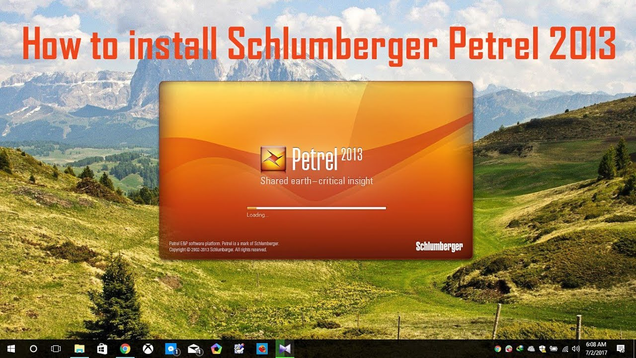 schlumberger petrel 2013 crack