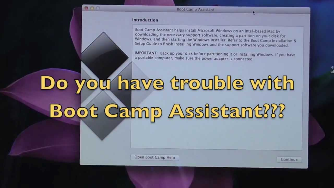 How to install Windows 7 WITHOUT Boot Camp Assistant on Mavericks