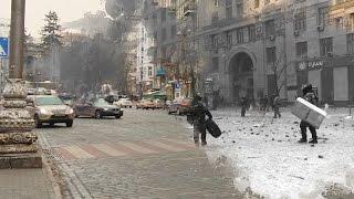 Улицы Евромайдана: тогда и сейчас