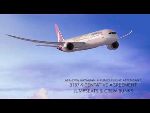 787 Roadshow: Jumpseat & Crew Bunks