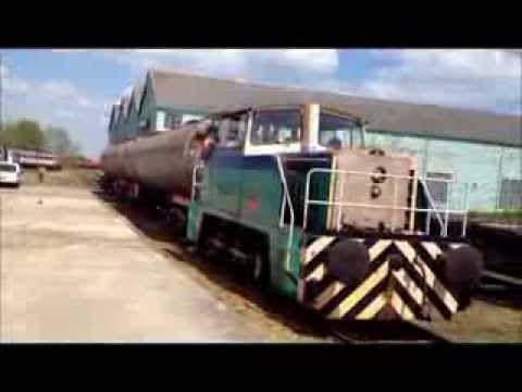 Long Marston field test- Acoustic Emission - Vibration analysis - onboard - wayside
