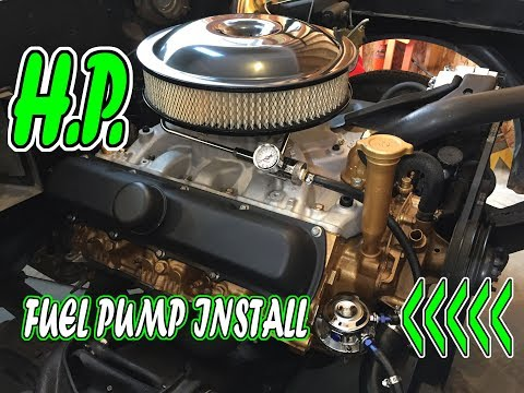 High Performance Fuel Pump Install | 1969 Oldsmobile Cutlass Muscle Car | EP. 6
