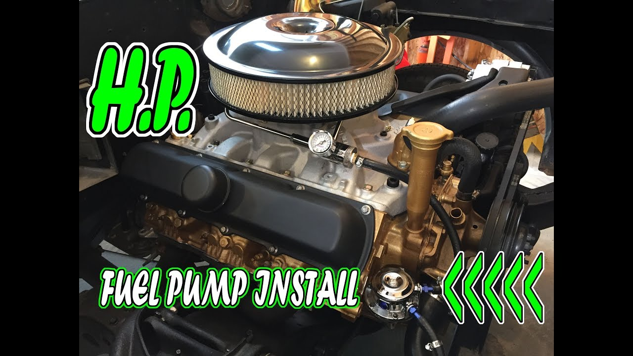 High Performance Fuel Pump Install