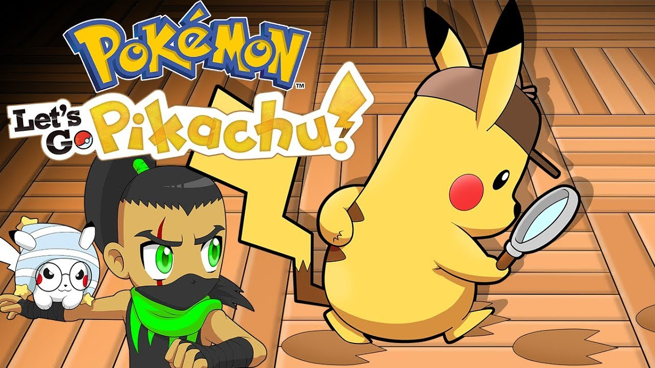 Pokemon Let S Go Pikachu Detective Pikachu Part 11 Youtube