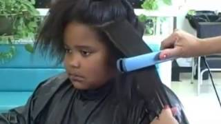 African American Hair Texture and Thermal Reconditioning