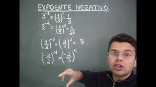 expoente negativo ph