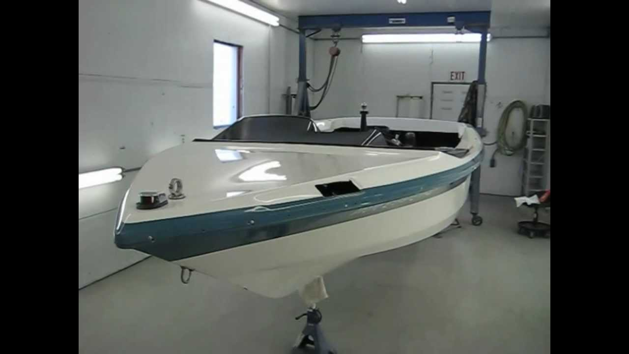 small resolution of 1988 mastercraft pro star 190 complete exterior color sand buff job by bricks boatworks inc youtube