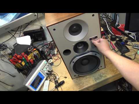 Technics SBX5 No Sound