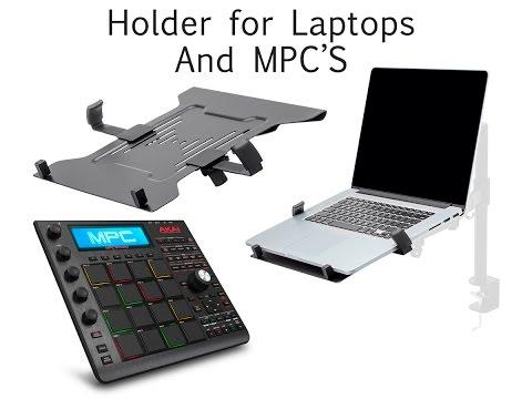 Desk Mount Holding Stand For Akai MPC Studio Black (Monoprice com)