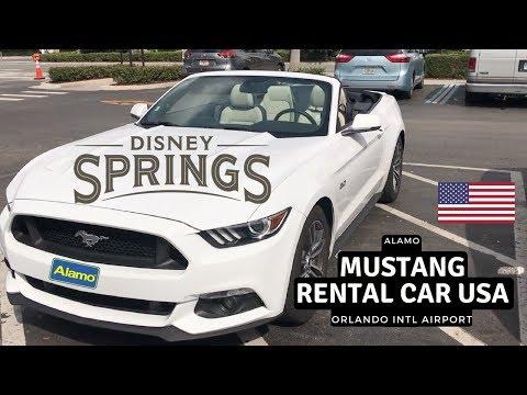 Mustang Rental Car | Alamo | Orlando Intl Airport
