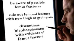 FDA Update: Bisphosphonates liek Fosamax and Femur Fractures