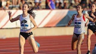 Dani Jones kicks her way to Colorado's second NCAA outdoor 5,000-meter crown