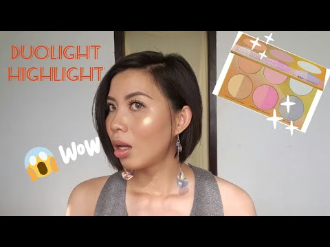 BH Cosmetics – Duolight Highlight Palette First Impression | Red ToBlack