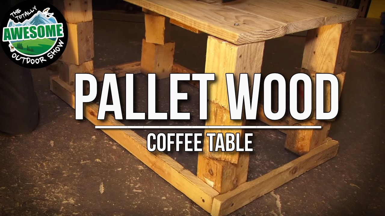 How To Build A Free Garden Table From Recycled Pallet Wood Ta Outdoors