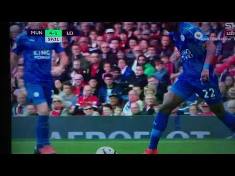 Demarai Gray WONDER GOAL   Manchester United vs Leicester City 4-1   24 09 2016  New Flash Game