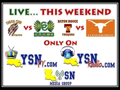 LYSNTV GAME DAY 10/11 LIVE STREAMING: Louisiana Youth Football's Game Day