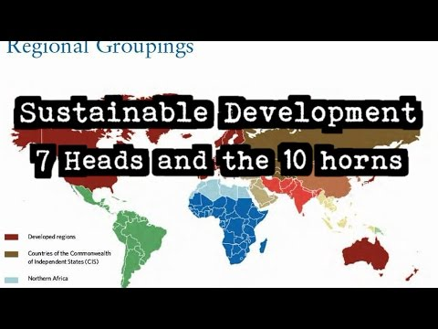 Mark of the Beast, 666, 10 horns 7 heads, and Sustainable Development