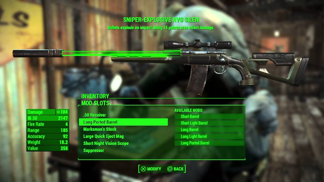 how to close inventory fallout 4