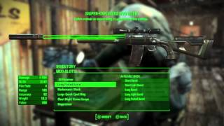 Fallout 4 - H๐w to Easily Craft the Best Weapons & Armor / Inventory Management Tips
