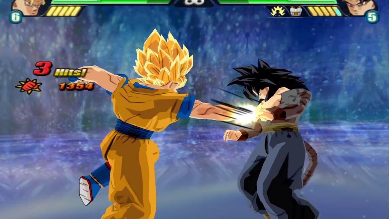 & Leonar Fernandez Match Request: Goku (End-SSJ2) vs SSJ4 Goku - YouTube