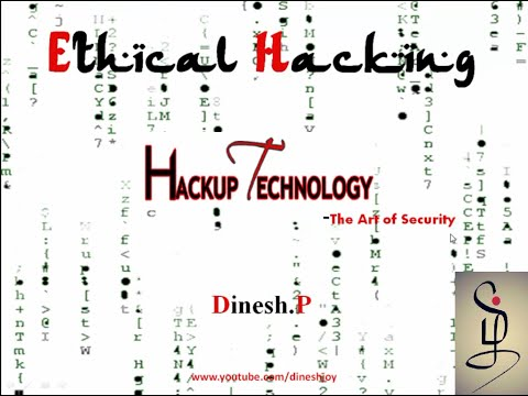 Ethical Hacking  Basic Tutorial (தமிழ்)-hackup technology