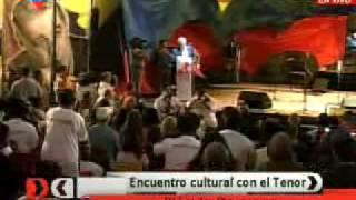 Plácido Domingo recibió llaves de la ciudad de Caracas Venezuela