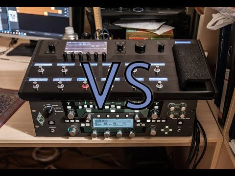 Kemper Profiling Amplifier vs Line 6 Helix 💢 Making some atmospheric landscapes for upcoming record